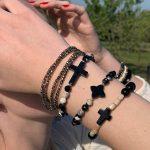 bracelets femme multiples agate