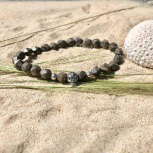 bracelet homme ben perles semi précieuses