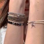Bracelet femme Alice colibri argent verre de bohème
