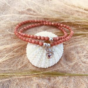 bracelet pendentif coeur croix argent