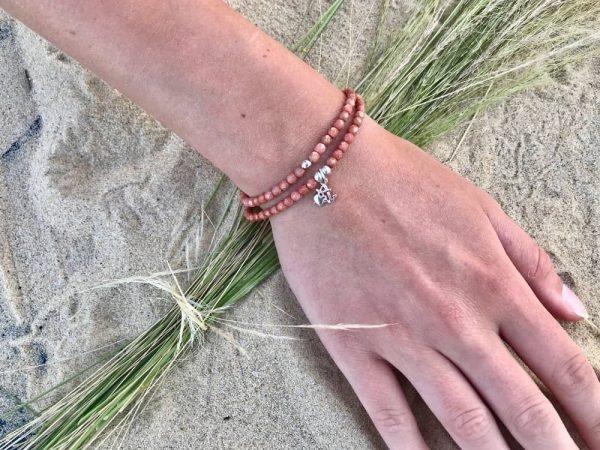 bracelet maya facette de bohème pendentif argent