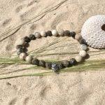 bracelet homme perles semi-précieuses argent